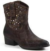 Diba Chocolate Flying Solo Leather Boot