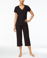 Charter Club Cropped Petite Pajama Set, Created for Macy's