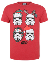 George Star Wars Stormtrooper Christmas T-Shirt