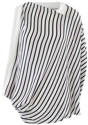 Roland Mouret Hopkins striped shirt
