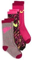 Nike Girl's Graphic Crew Socks