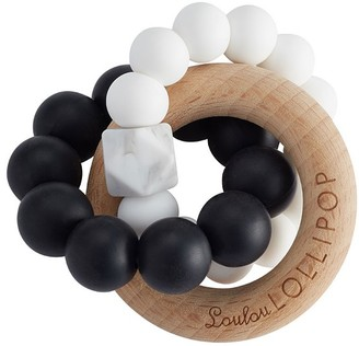 Pottery Barn Kids LouLou Lollipop Trinity Silicone and Wood Teethers