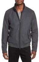 BOSS ORANGE Winston Wool Blend Harrington Jacket
