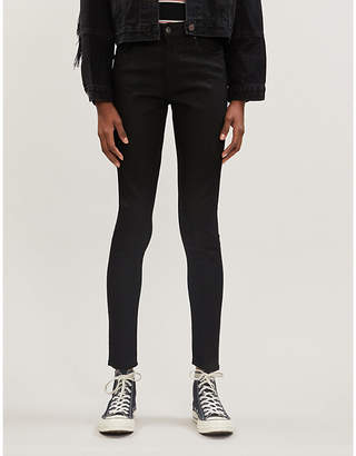 Levi's Levis Made & Crafted 721 Mid-Rise Skinny Velvet Jeans