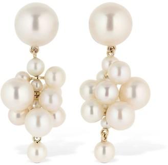 Sophie Bille Brahe Botticelli Pearls Pendant Earrings