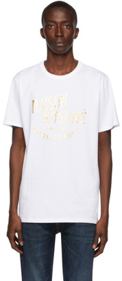 MAISON KITSUNÉ White Palais Royal T-Shirt