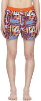 Kenzo Orange Hyper Swim Shorts