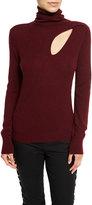A.L.C. Billy Wool-Cashmere Turtleneck Sweater, Bordeaux