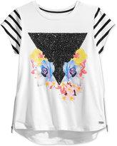 Sean John Graphic-Print Sequin T-Shirt, Big Girls (7-16)