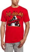 FEA Men's Def Leppard Hysteria 87 Mens Tee