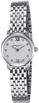 Frederique Constant Fc200whds6b Slimline Mini Stainless Steel And Diamond Watch