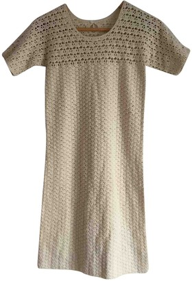 Bonpoint Ecru Cotton Dress for Women