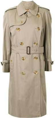 Burberry Pre-Owned Knee-Length Trench Coat