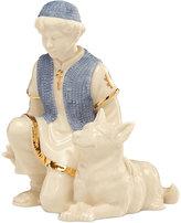 Lenox First Blessing NativityTM Shepherd Boy with Sheep Dog