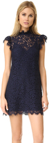 Rachel Zoe High Neck Lace Dress