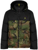 Polo Ralph Lauren Camouflage-print quilted shell jacket
