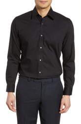 Ted Baker Endurance Extra Slim Fit Stretch Solid Dress Shirt