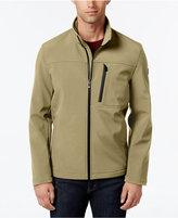Calvin Klein Men's Big & Tall Softshell Full-Zip Jacket
