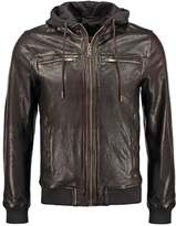 Chevignon One Leather Jacket Cacao