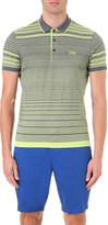 HUGO BOSS Striped cotton polo shirt