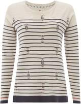White Stuff River Canyon Stripe Jumper