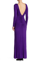 Rachel Pally Front Ruched Long Sleeve Dress