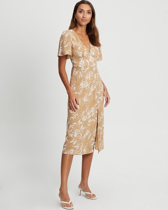 Tussah - Women's Neutrals Midi Dresses - Stevie Midi Dress - Size 6 at The Iconic