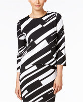 Grace Elements Striped High-low Top