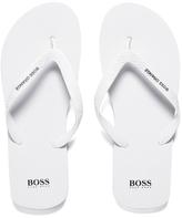 Boss Orange Loy Flip Flops White