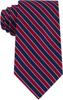 Club Room Men's Classic Diagonally-Striped Tie, Only at Macy's