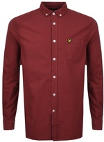 Lyle & Scott Oxford Shirt Red