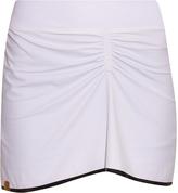Monreal London Gathered-front performance skirt
