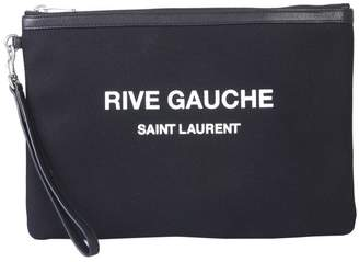 Saint Laurent Rive Gauche Zippered Pouch