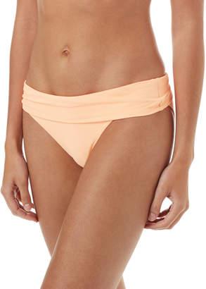 Melissa Odabash Provence Pique Fold-Over Bikini Swim Bottoms