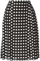 Proenza Schouler woven A-line skirt