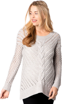 Motherhood Wendy Bellissimo Split Back Maternity Sweater