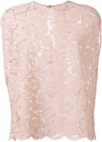Valentino heavy lace blouse
