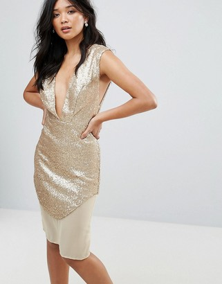 Glamorous Metallic Dress