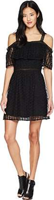 Jack by BB Dakota Junior's Aitana Geometric Lace Dress