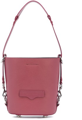 Rebecca Minkoff Utility embossed logo detail bucket bag