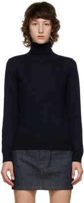A.P.C. Navy Sandra Turtleneck
