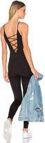 Riller & Fount Conway Cross Front Bodysuit in Black. - size 2 / M (also in )
