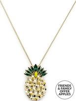 Anton Heunis Pineapple Pendant Necklace