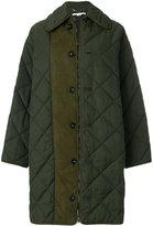 Stella McCartney Hazel quilted coat