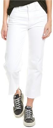 Hudson Remi High-Rise White Straight Crop Jean