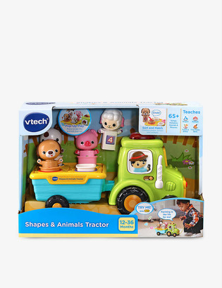 Vtech Shapes and Animal Tractor set