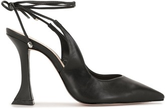 Schutz Ankle Lace-Up Pumps