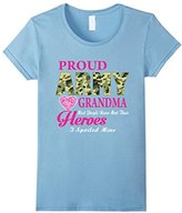 Women's Proud Army Grandma Shirt - Army Grandma Gifts