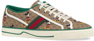 Gucci Men's Mickey Mouse Vulcanized Sneakers