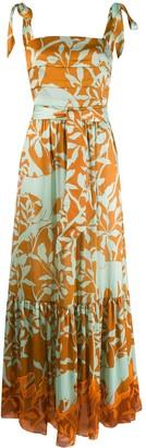 Johanna Ortiz printed maxi dress
